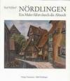 Nördlingen- Ein Maler führt durch die Altstadt